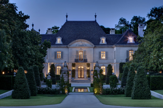 Found in Preston Hollow, the Crespi/Hicks Estate is considered the finest estate home in America.