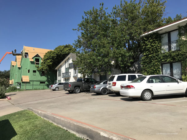 Gaston Avenue apartments were result of upzoning.